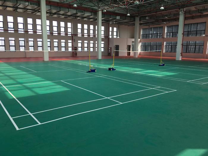 南通通州区张芝山镇锡通园区小学 室内风雨操场 羽毛球馆,乒乓球馆